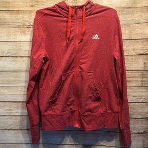 🦄 Adidas Track Jacket Zipper Down Medium 3/$25